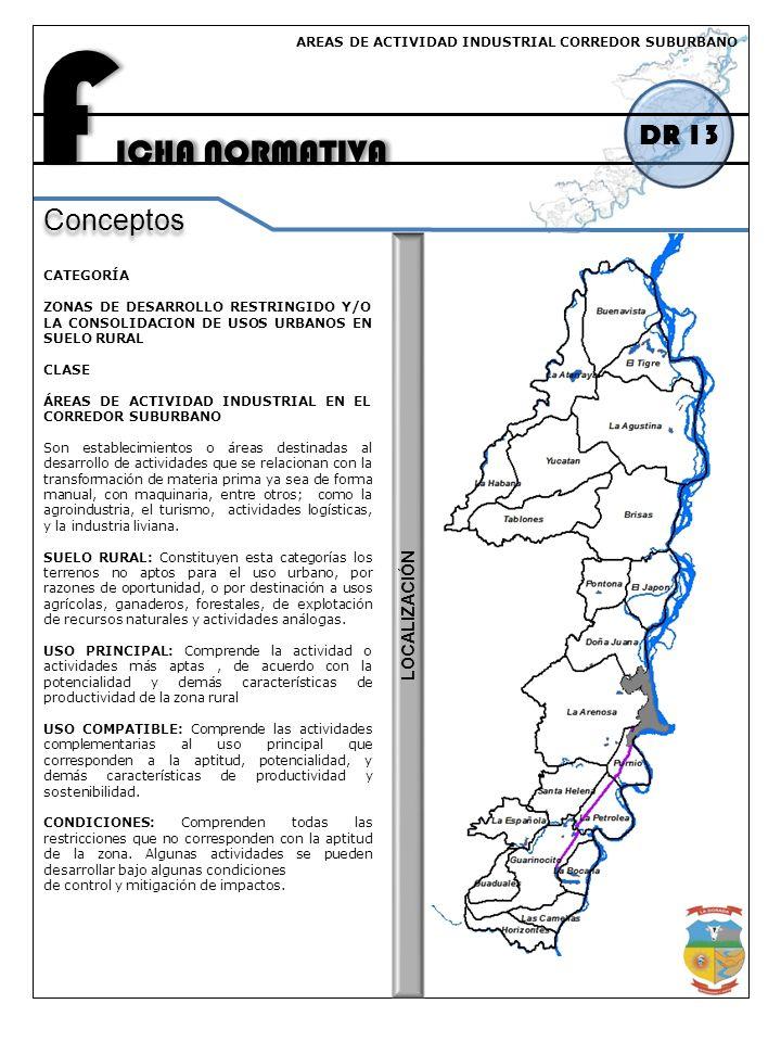 FICHA NORMATIVA DR 13 Conceptos LOCALIZACIÓN