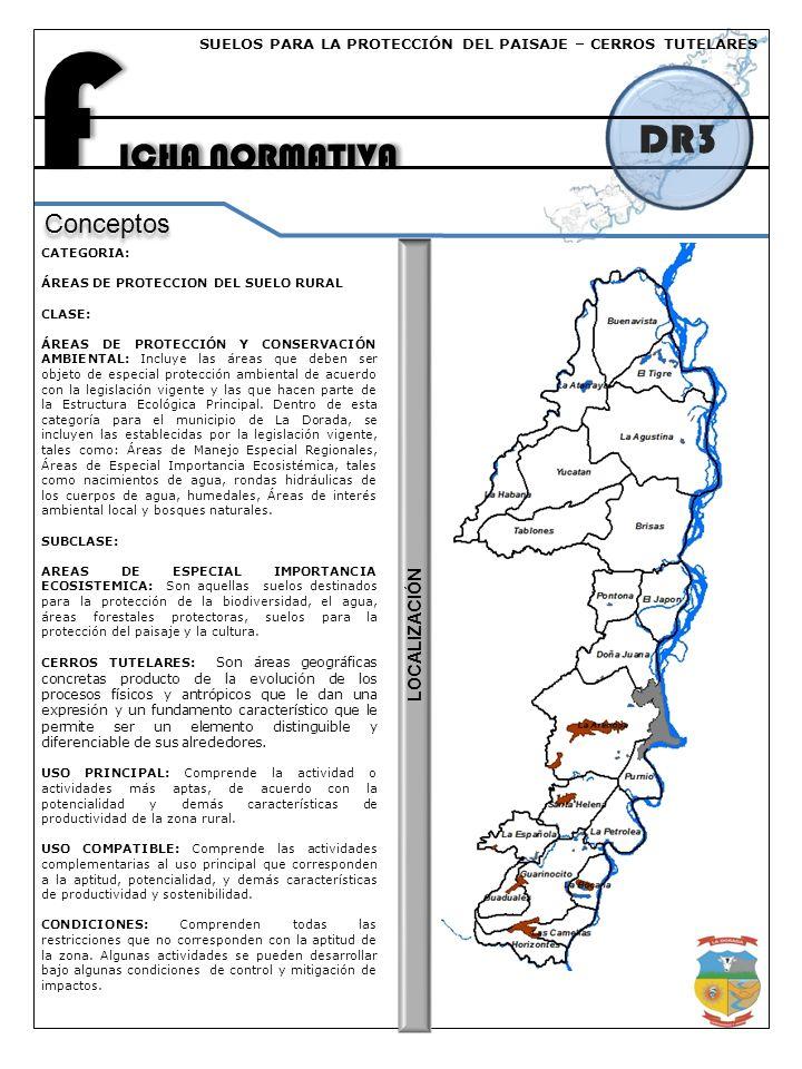 FICHA NORMATIVA DR3 Conceptos LOCALIZACIÓN