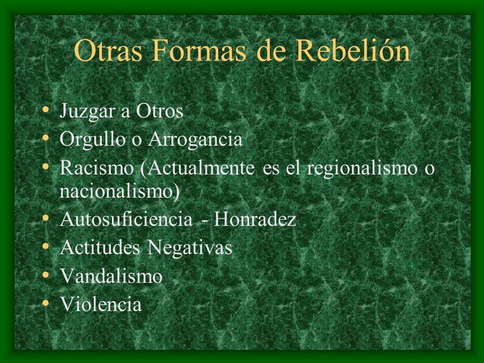 Otras Formas de Rebelión