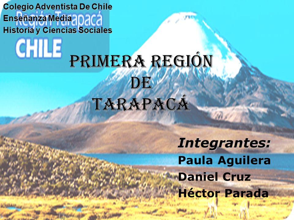 primera región de Tarapacá