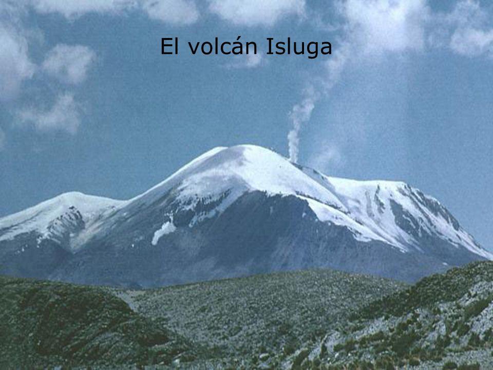 El volcán Isluga