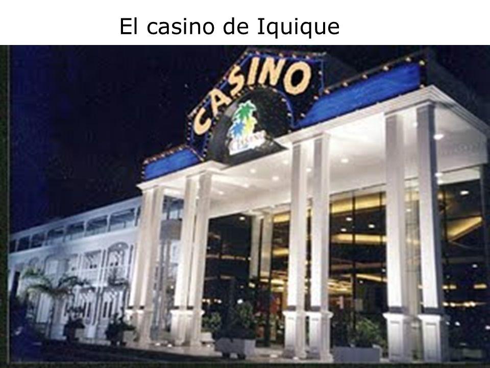 El casino de Iquique