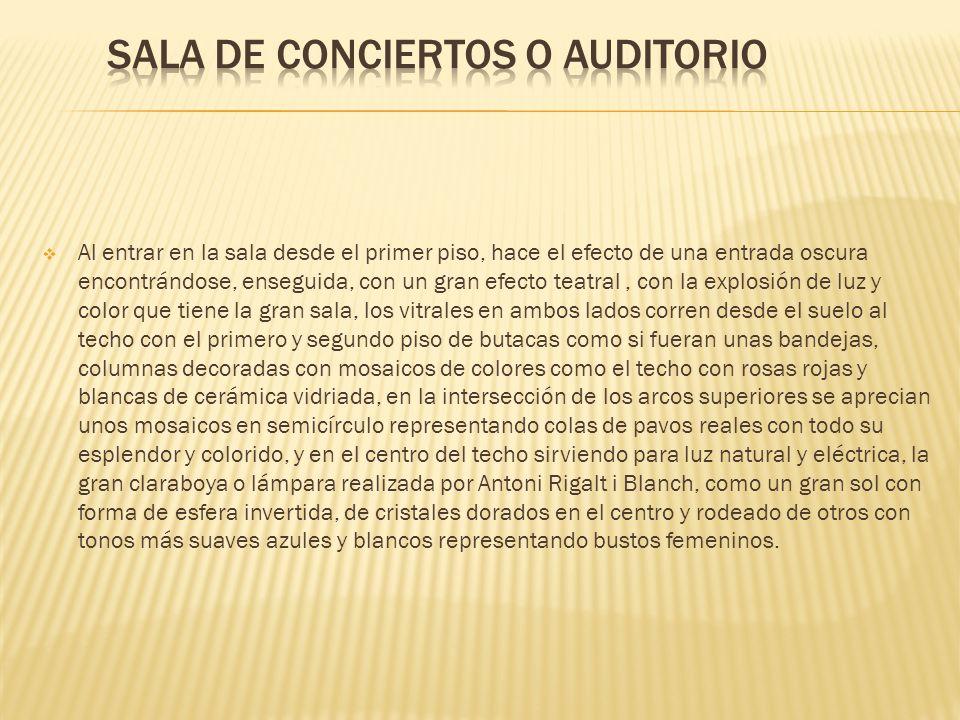 Sala de conciertos o auditorio