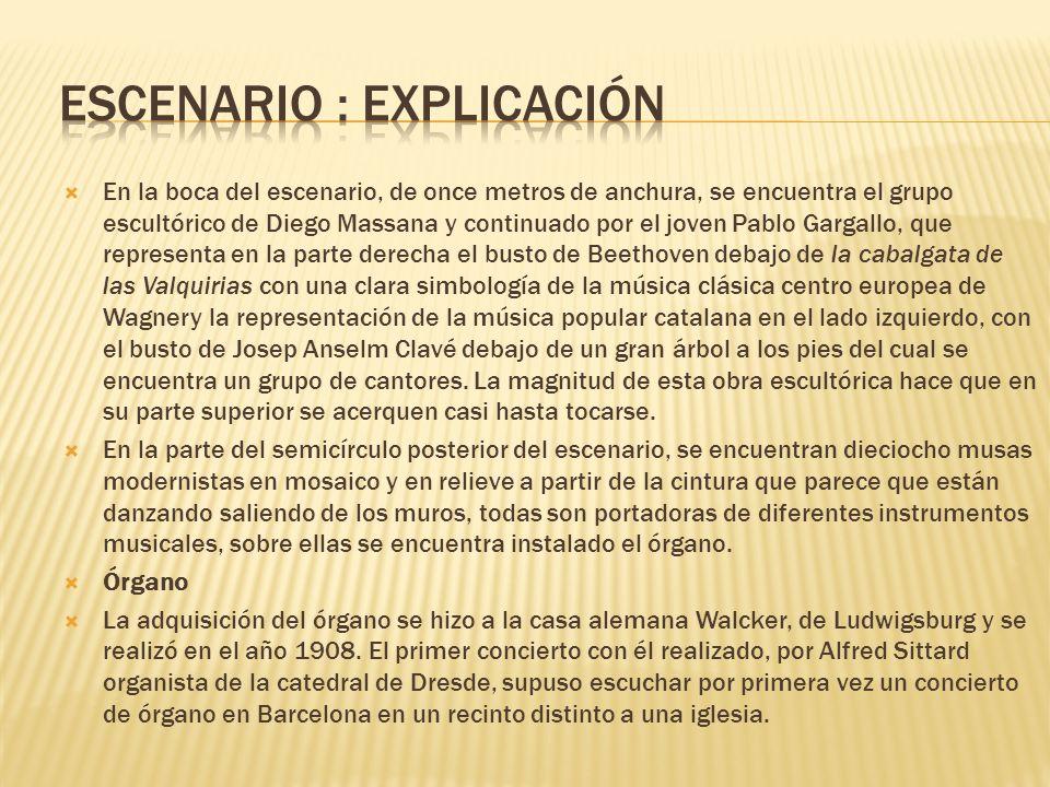 escenario : explicación