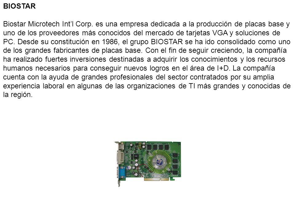 BIOSTAR Biostar Microtech Int'l Corp