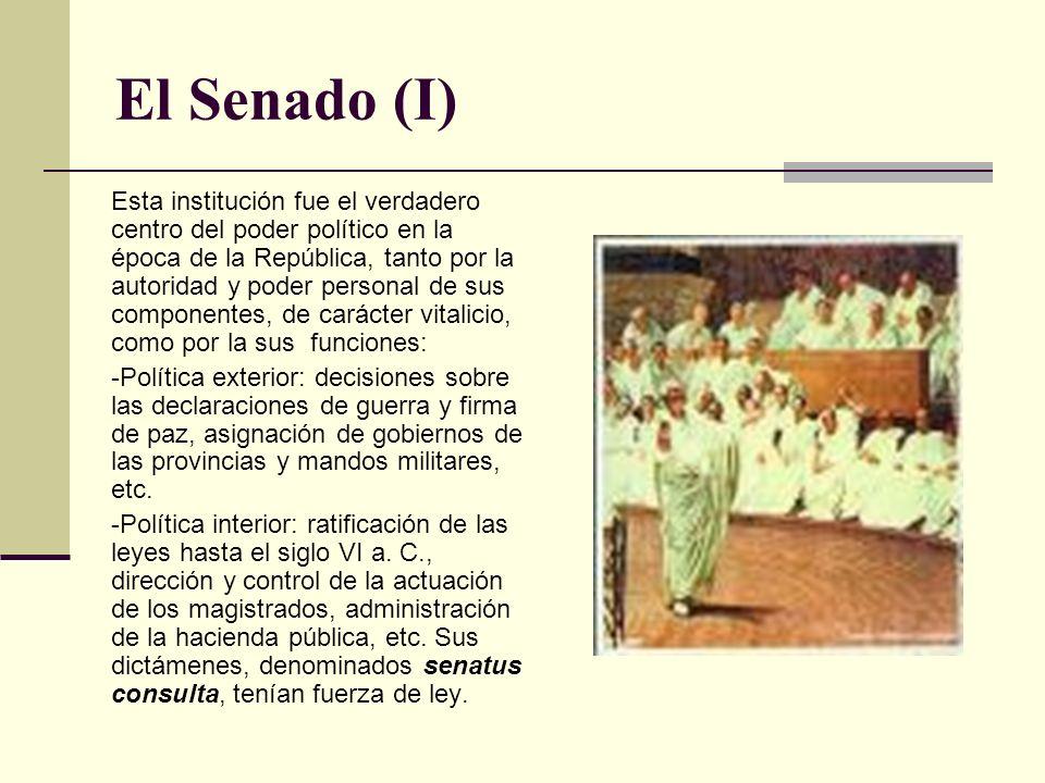 El Senado (I)