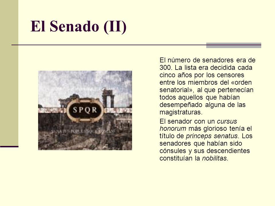 El Senado (II)