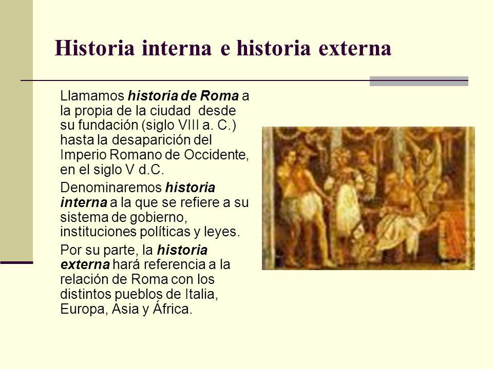 Historia interna e historia externa