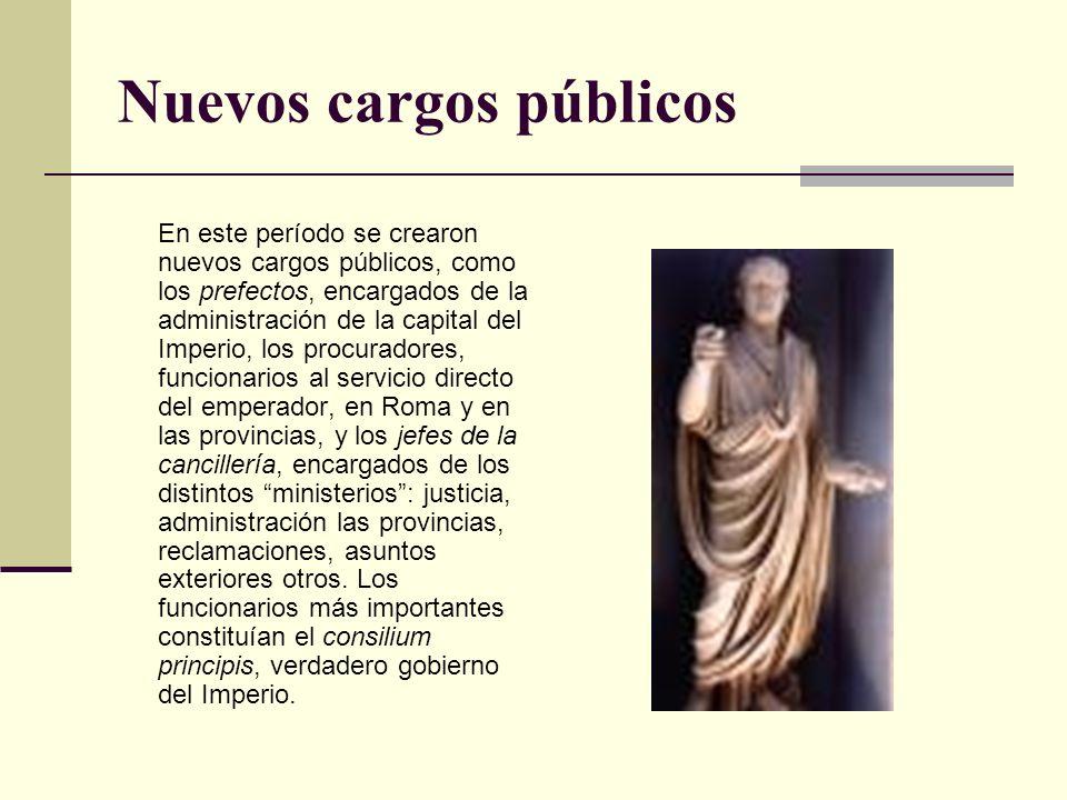 Nuevos cargos públicos