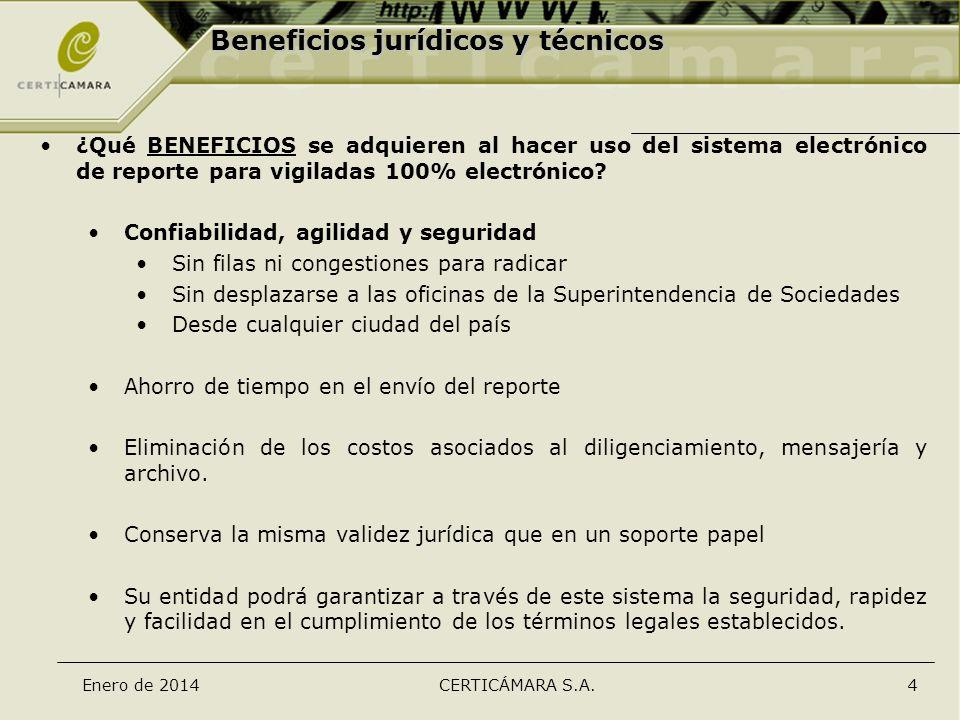 Beneficios jurídicos y técnicos