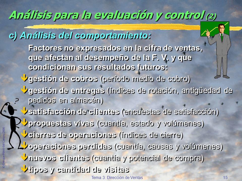 Análisis para la evaluación y control (2)