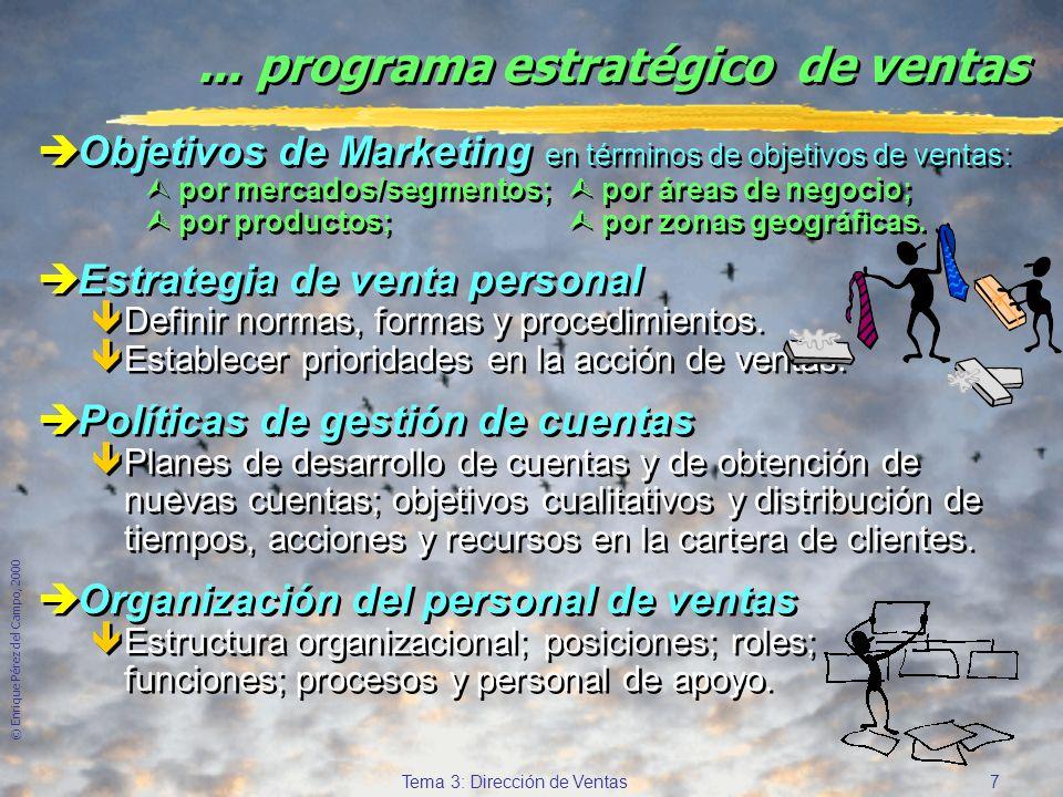 ... programa estratégico de ventas