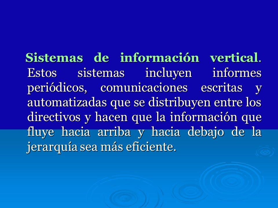 Sistemas de información vertical