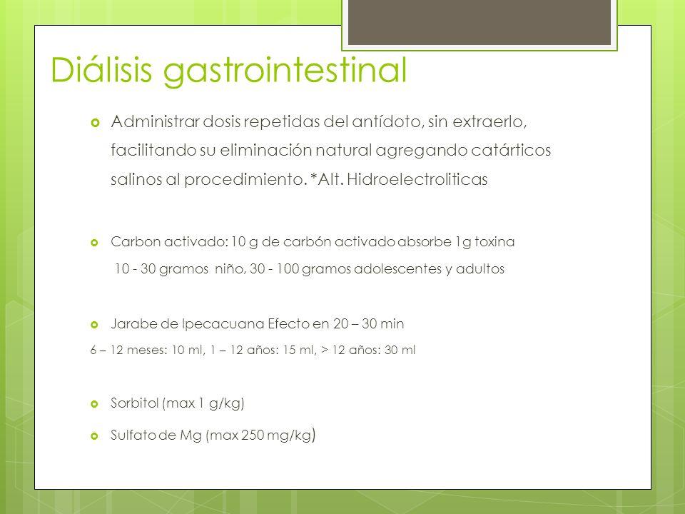 Diálisis gastrointestinal