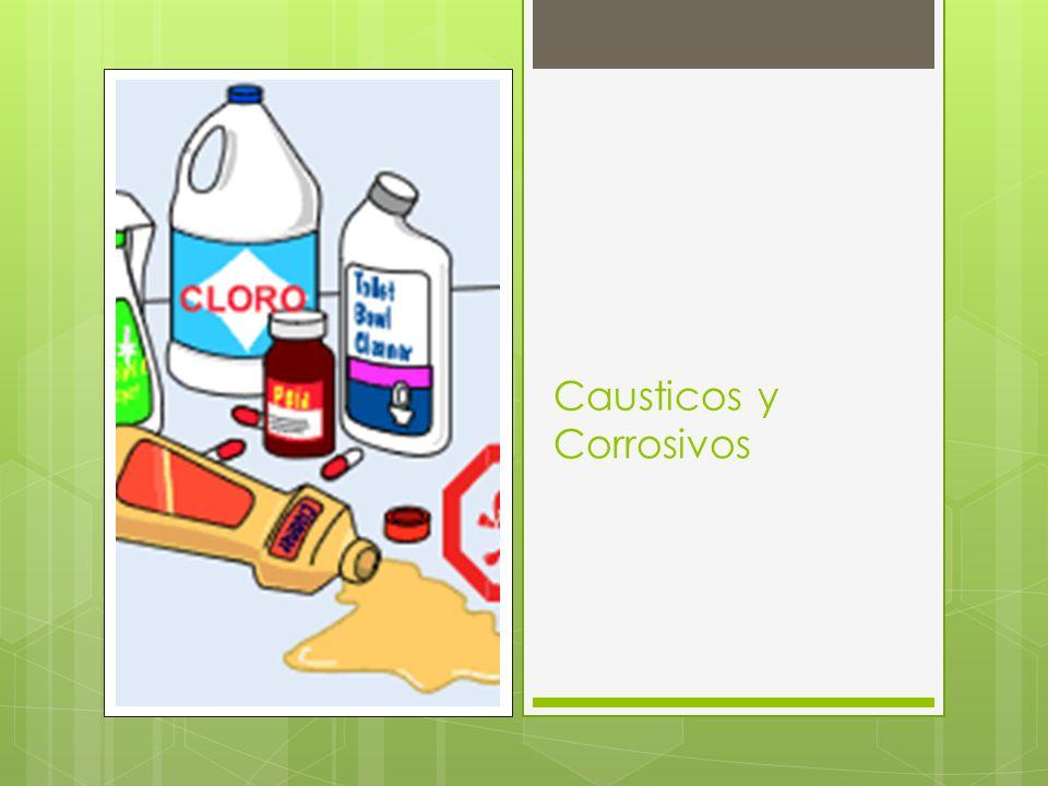Causticos y Corrosivos