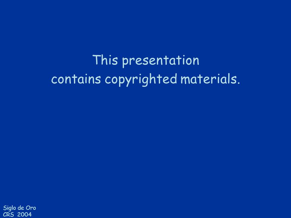 contains copyrighted materials.
