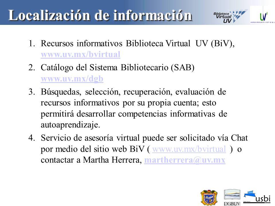 Localización de información