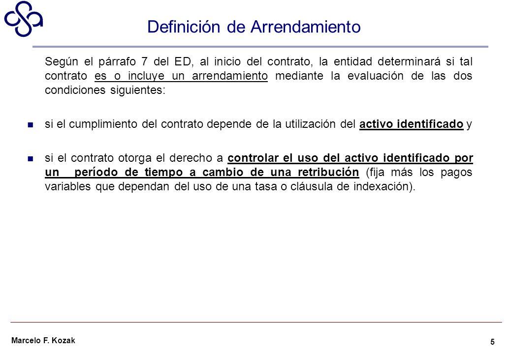 Definición de Arrendamiento