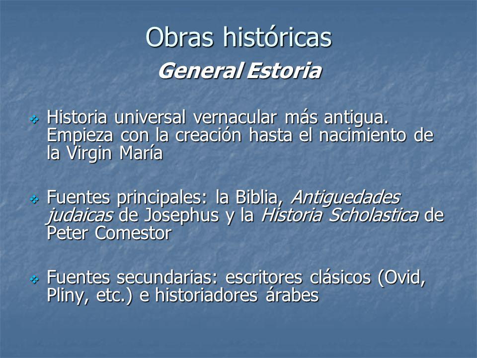 Obras históricas General Estoria