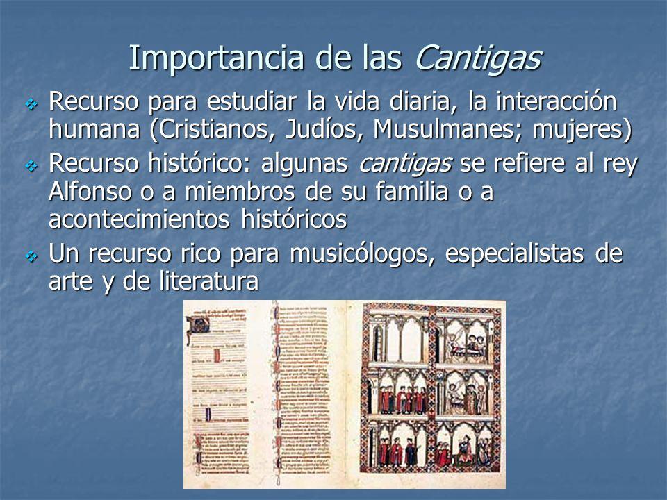 Importancia de las Cantigas