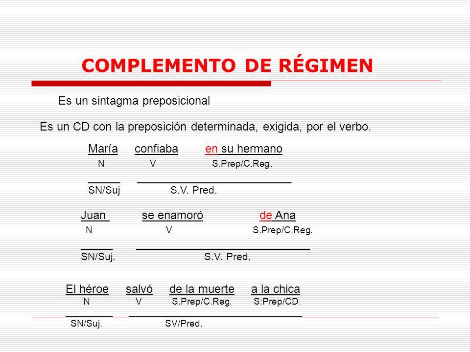 COMPLEMENTO DE RÉGIMEN