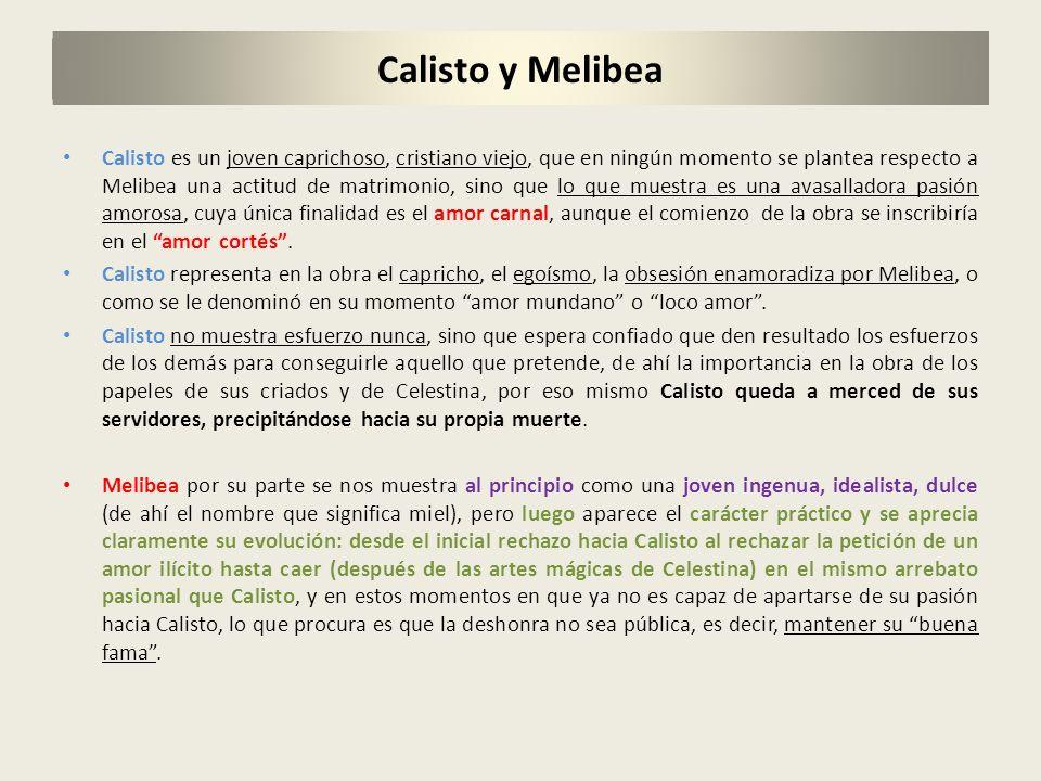 Calisto y Melibea