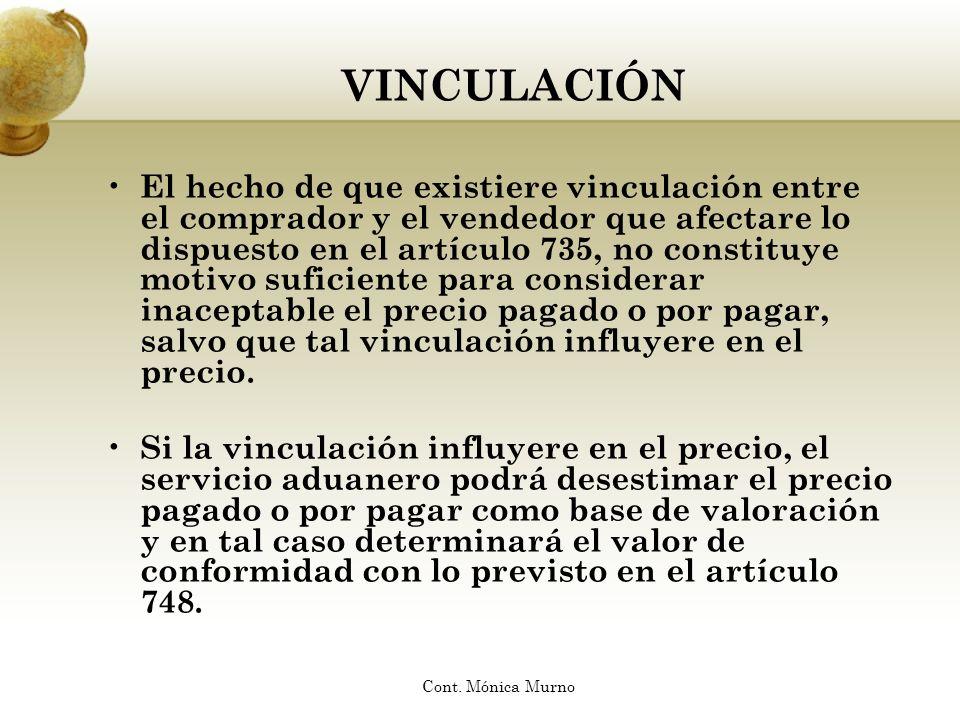 VINCULACIÓN