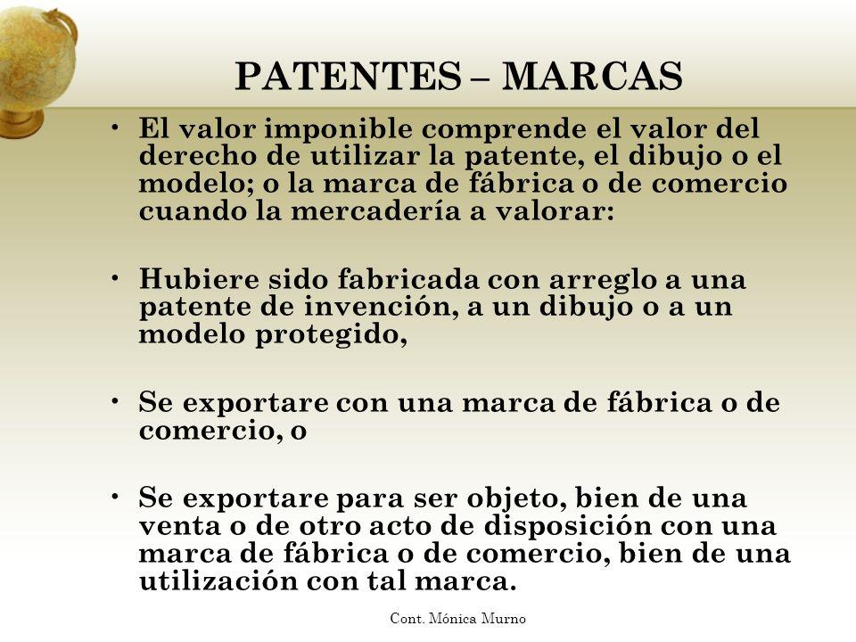 PATENTES – MARCAS