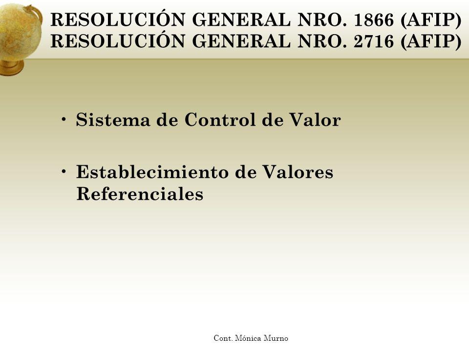 Sistema de Control de Valor Establecimiento de Valores Referenciales
