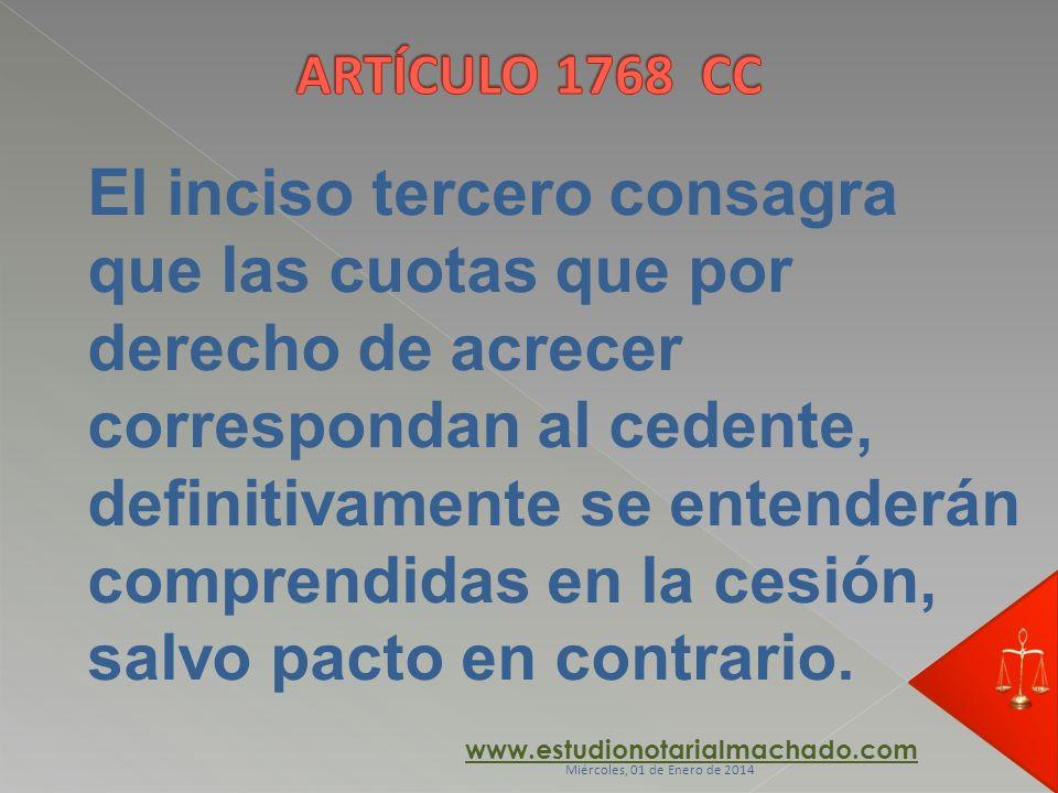 ARTÍCULO 1768 CC