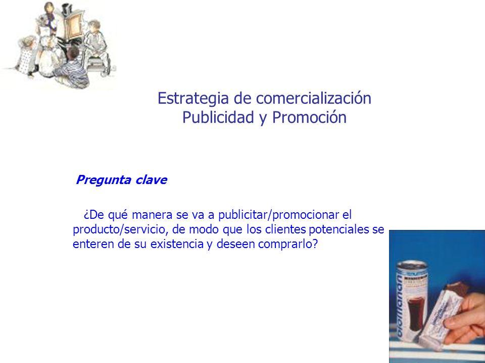 Estrategia de comercialización Publicidad y Promoción
