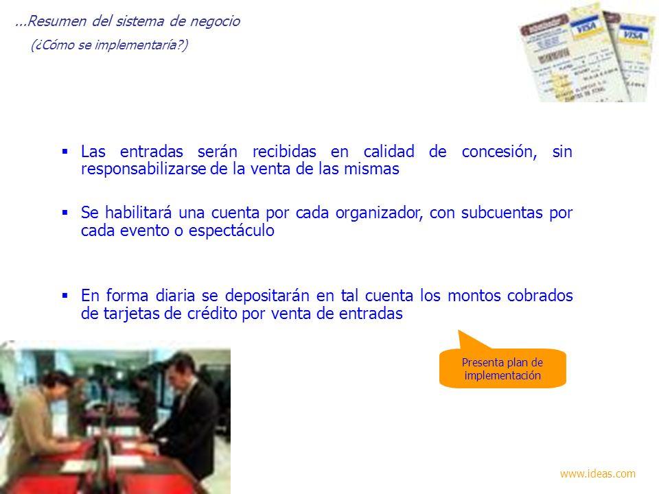 Presenta plan de implementación