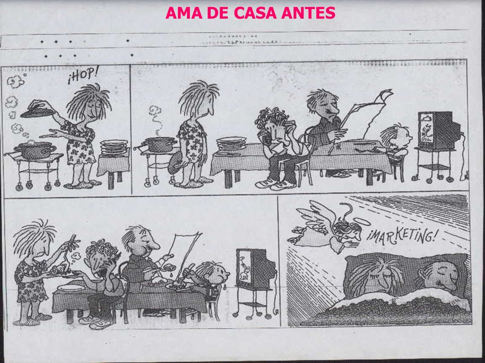 AMA DE CASA ANTES