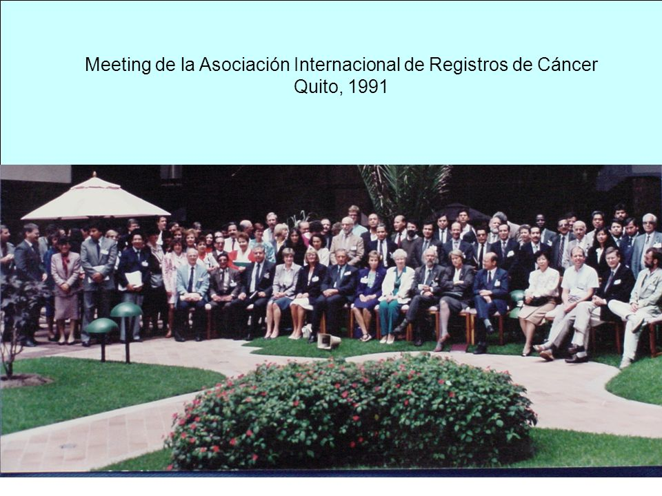 Meeting de la Asociación Internacional de Registros de Cáncer