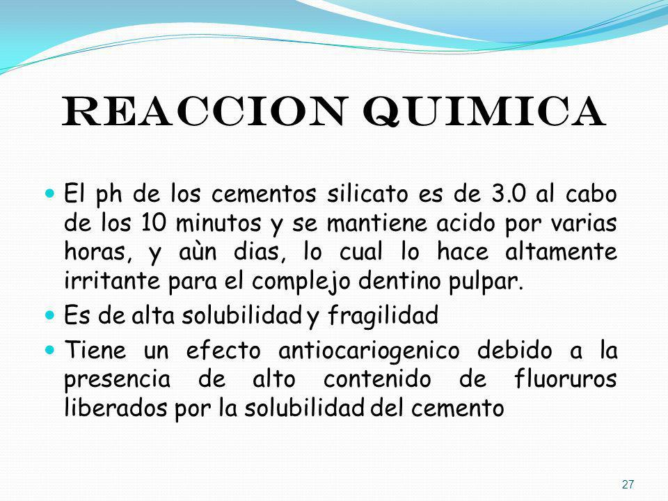 REACCION QUIMICA