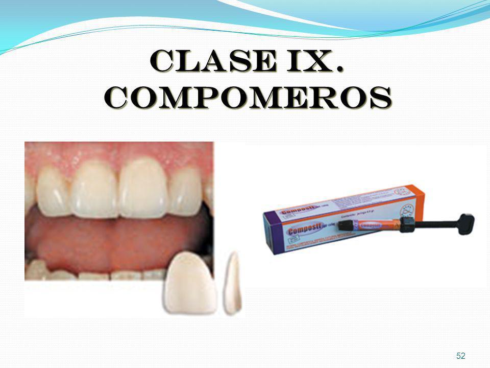 CLASE IX. COMPOMEROS