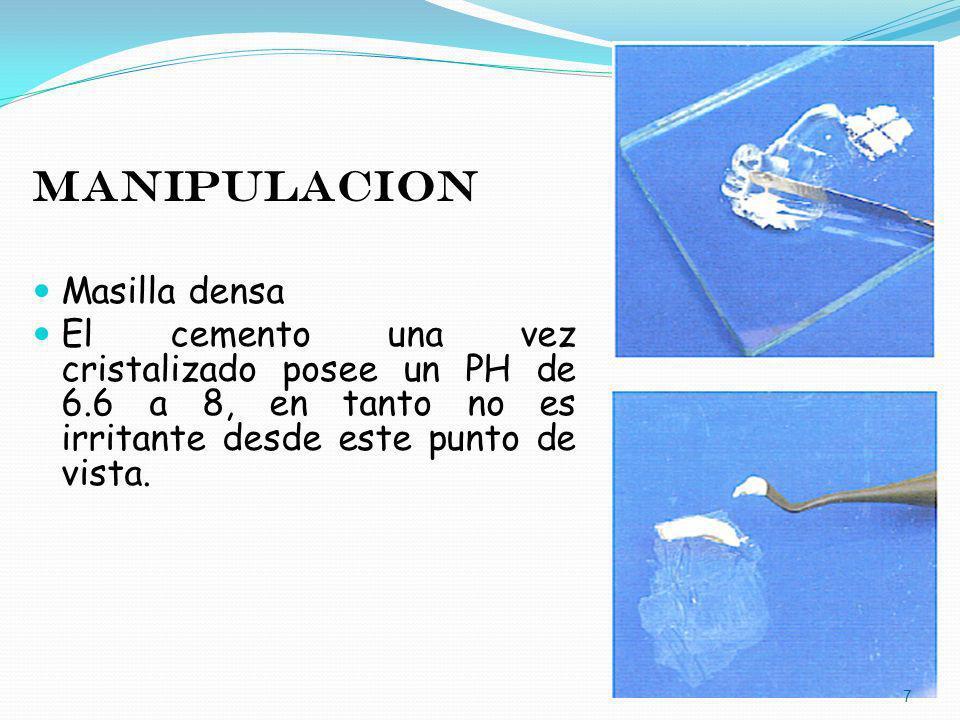 MANIPULACION Masilla densa