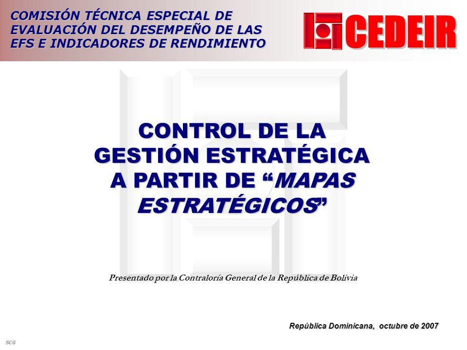 CONTROL DE LA GESTIÓN ESTRATÉGICA A PARTIR DE MAPAS ESTRATÉGICOS