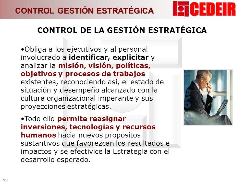 CONTROL DE LA GESTIÓN ESTRATÉGICA