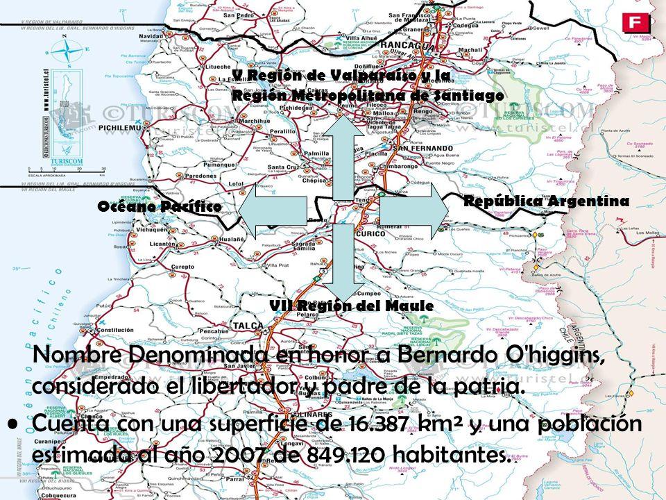 V Región de Valparaíso y la