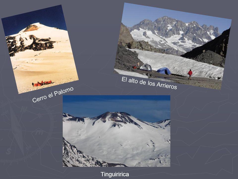 El alto de los Arrieros Cerro el Palomo Tinguiririca