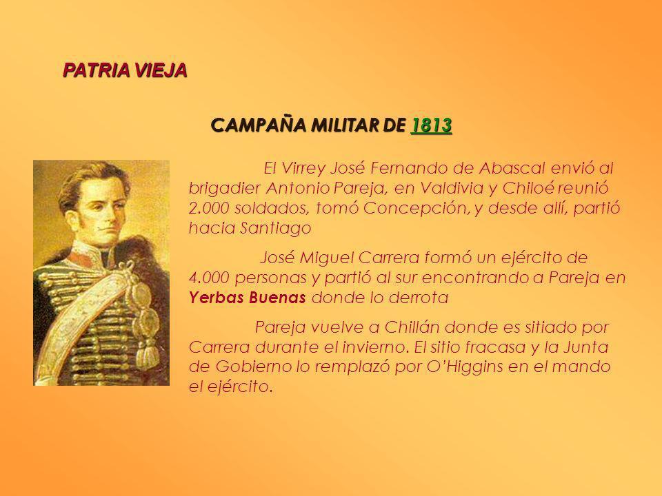 PATRIA VIEJA CAMPAÑA MILITAR DE 1813