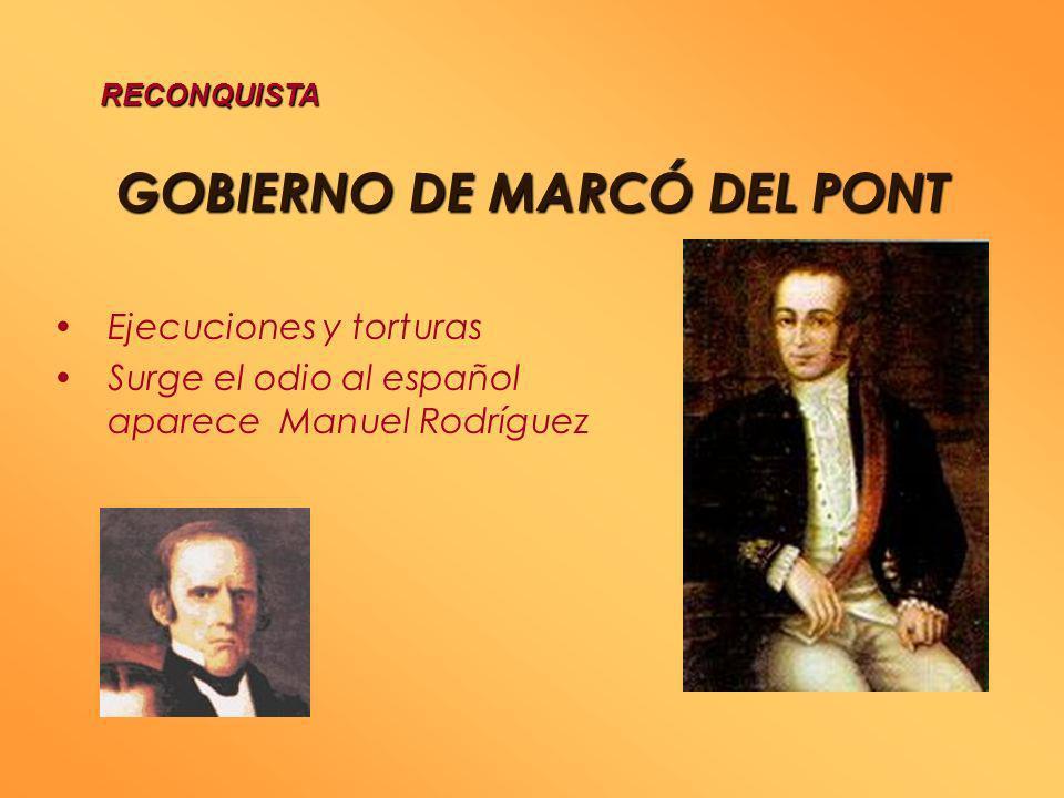 GOBIERNO DE MARCÓ DEL PONT