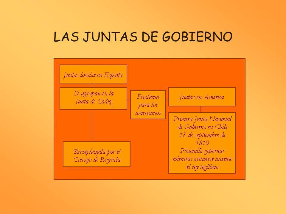 LAS JUNTAS DE GOBIERNO
