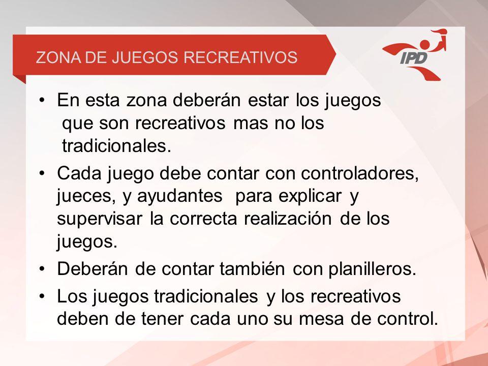 ZONA DE JUEGOS RECREATIVOS