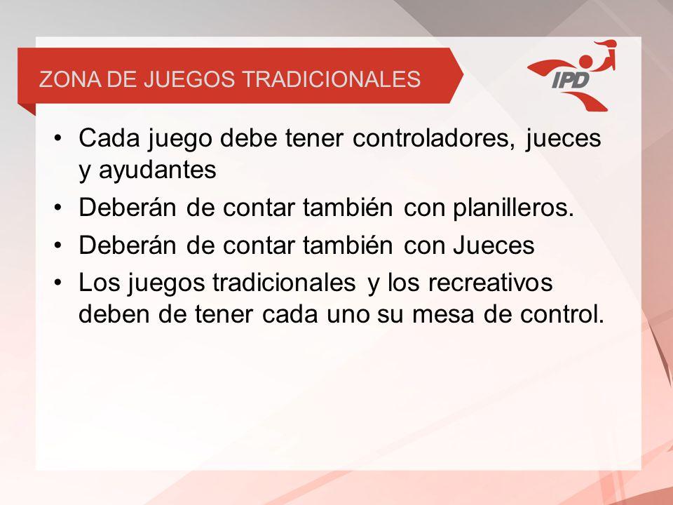 ZONA DE JUEGOS TRADICIONALES