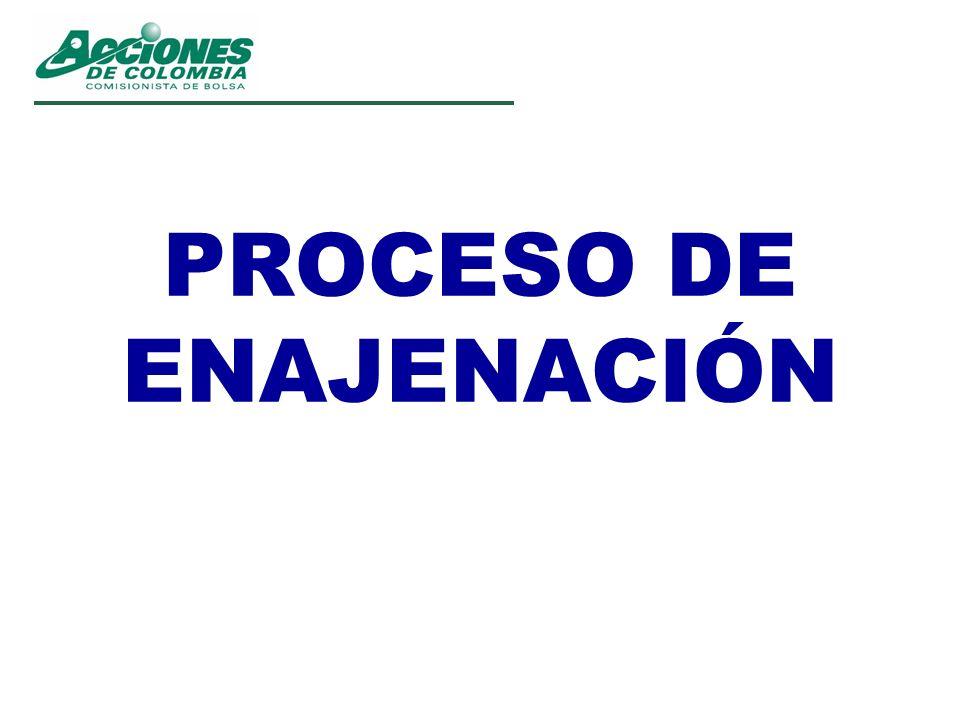 PROCESO DE ENAJENACIÓN