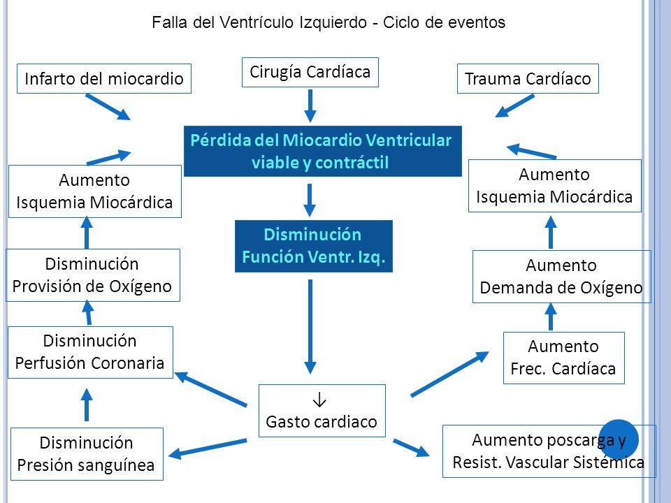 Pérdida del Miocardio Ventricular