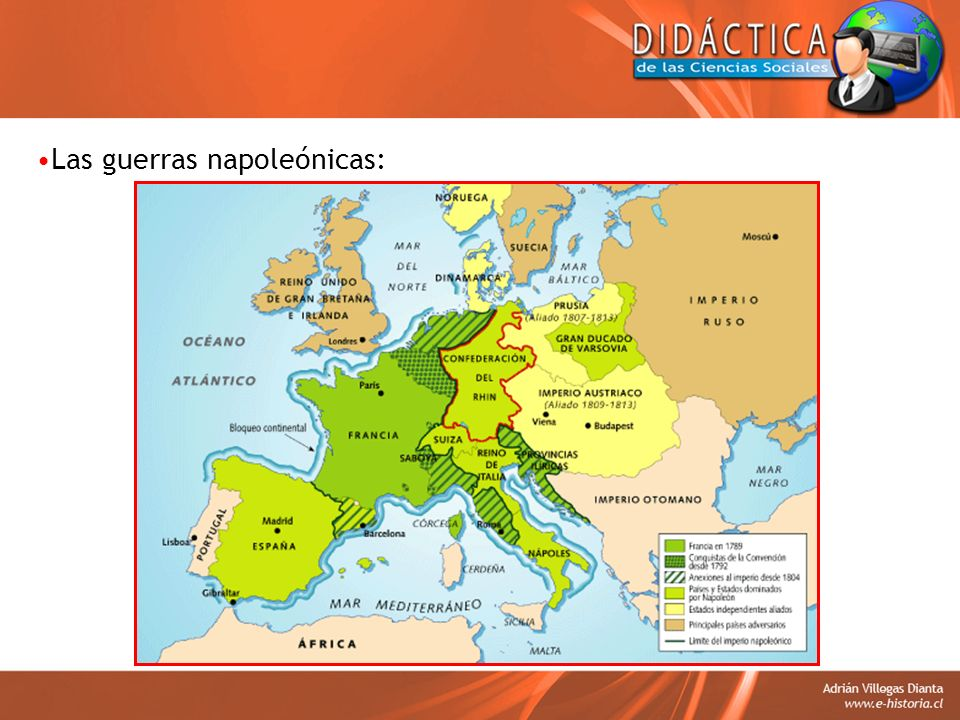 Las guerras napoleónicas: