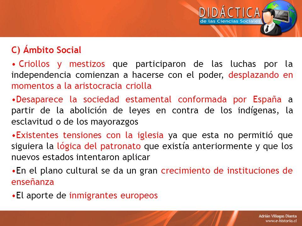 C) Ámbito Social